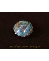 Cabochon - Chrysocolle clipsable