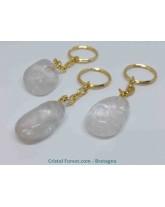 Cristal de roche - Portes clefs