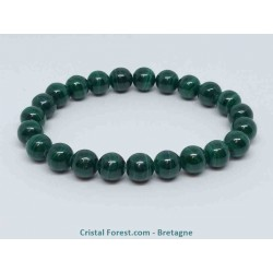 Malachite - Bracelets boules 6 à 14 mm