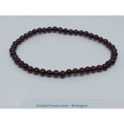 Grenat pyrope (rouge) - Bracelets boules