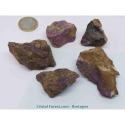 Purpurite - pierre brute - GM