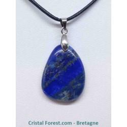Lapis lazuli - Pendentif Pierre Plate