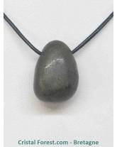 Pyrite de fer - Pendentif pierre percée