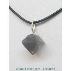 Fluorite - Pendentifs octaèdres