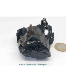 Tourmaline noire et Quartz fumé