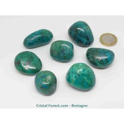 Chrysocolle - Pierres roulées extra