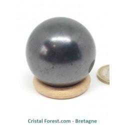 Shungite - Sphère de 4 cm