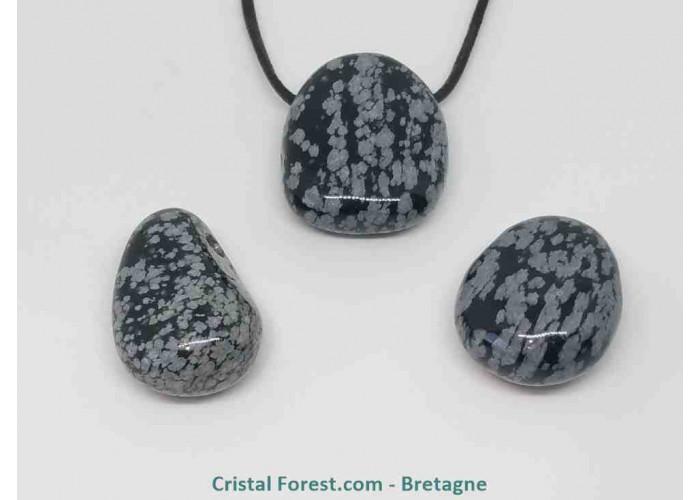 obsidienne flocon de neige