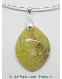 Opale verte - Pendentif
