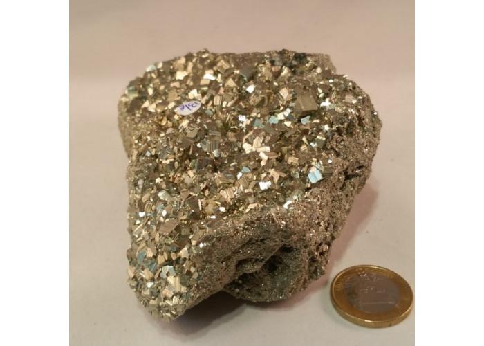 Pyrite de fer cristalisée 0,73 kg