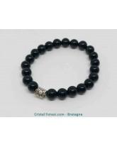 Obsidienne Oeil céleste - Bracelets boules