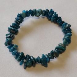 Bracelet ships Apatite bleue