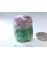 Tourmaline rose et verte