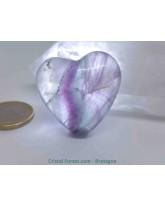 Fluorite (Fluorine ) - Coeurs