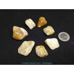 Héliodore (béryl jaune) - Pierres roulées