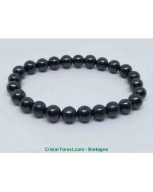 Bracelet boule 8mm - shungite