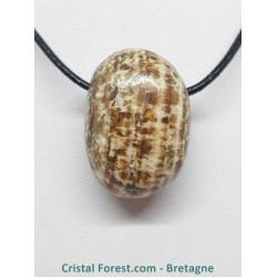Aragonite - Pendentif pierre percée