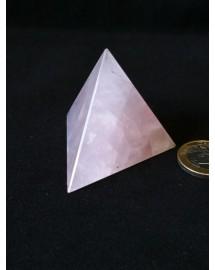 Tétraèdre Quartz rose - 5,2 cm