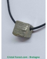 Pyrite de Fer - Pierre percée forme libre