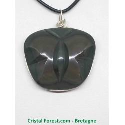 Obsidienne Oeil Celeste (Arc en ciel) extra - Pendentifs papillon