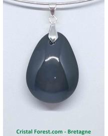 Obsidienne Oeil Celeste (Arc en ciel) - Pendentif Goutte
