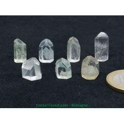 Quartz Fuchsite (Fuschite) - Pointes Cristaux