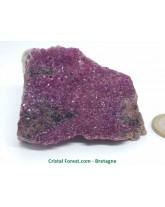 Cobalto - Dolomite Rose - Pierre Brute cristalisée - Collection