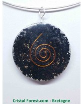 Orgonite de Shungite - Pendentif