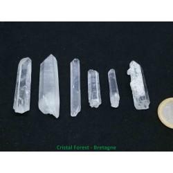 Quartz laser Cristal de roche - Pointes brutes