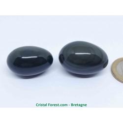 Obsidienne oeil céleste (arc-en-ciel) - oeuf