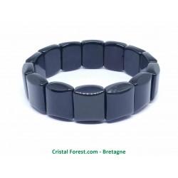 Obsidienne Oeil Celeste (Arc En Ciel) - Bracelet Plaques