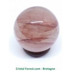 Quartz Hématoïde - Sphères