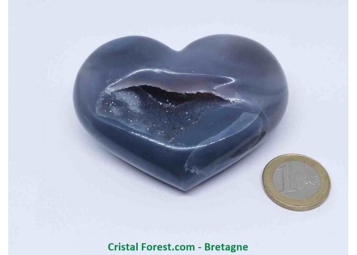 Coeur d'Agate du Brésil