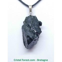 Epidote Cristalisé - Pendentif Pierre Brute