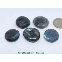 Labradorite (pierre des thérapeutes) - Petits galets - AA