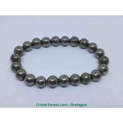 Pyrite de fer - Bracelet boules