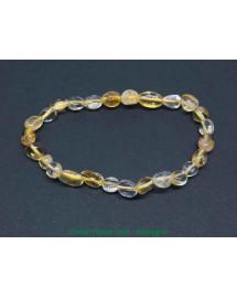 Citrine naturelle (non chauffée) - Bracelets Grains