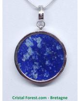 Lapis Lazuli et Argent - Pendentif Arbre de Vie