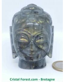 Labradorite extra - Bouddha - Pièce de collection