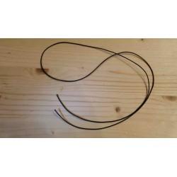 Cordon coton ciré à nouer diamètre 1mm