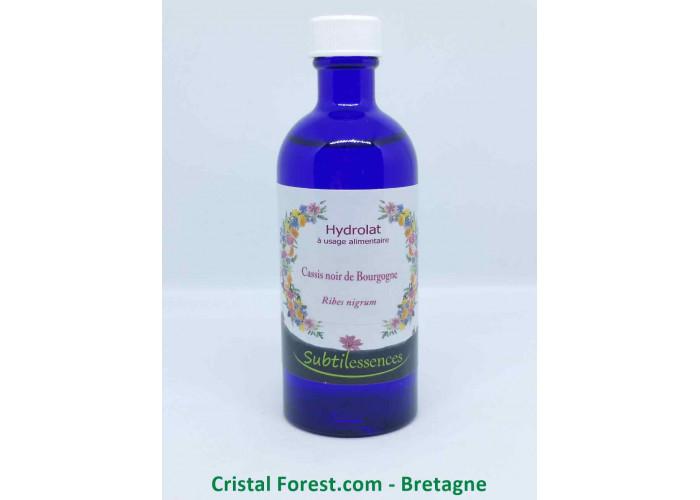 Hydrolat Cassis noir de Bourgogne - Ribes nigrum
