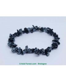 obsidienne neige (étoilée)
