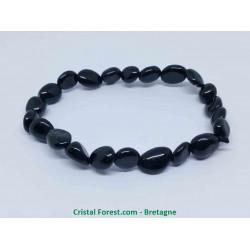 Tourmaline noire - Bracelet Grains