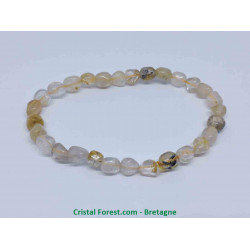 Quartz rutile - Bracelet Grains