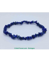 Lapis lazuli extra bleue - Bracelet Baroque (ships)