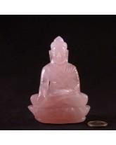 Bouddha Quartz Rose - 11cm
