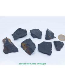 Shungite - blocs pierres brutes