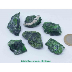Diopside - Pierre Brute extra