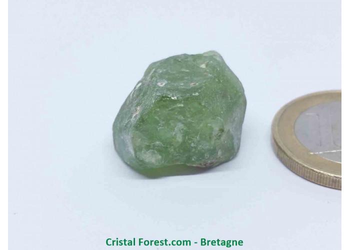 Péridot (Chrysolite) - Cristaux naturels Bruts - 1,4 x 2 x 1,3 cm / 8,30gr