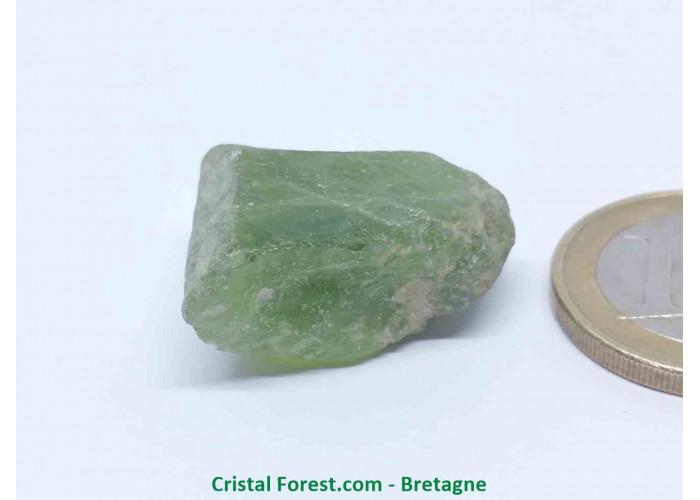 Péridot (Chrysolite) - Cristaux naturels Bruts - 2,5 x 1,8 x 1,2 cm / 9,40gr